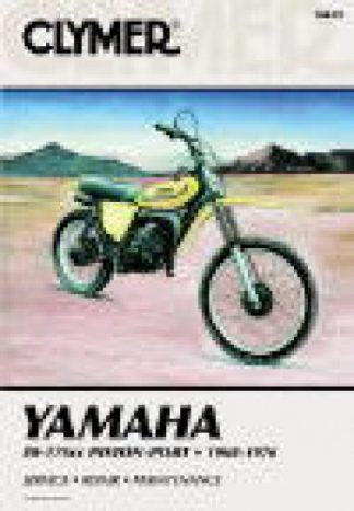 1968-1976 Yamaha 80-175 Piston Port Clymer Repair Manual