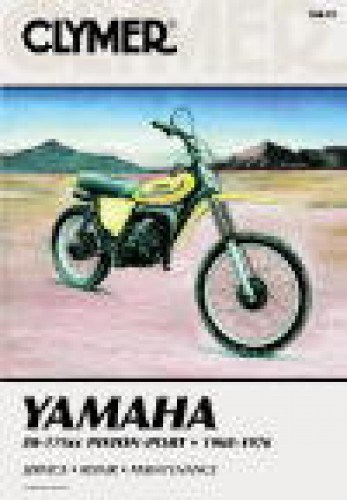 1968-1976 Yamaha 80-175 Piston Port Clymer Repair Manual