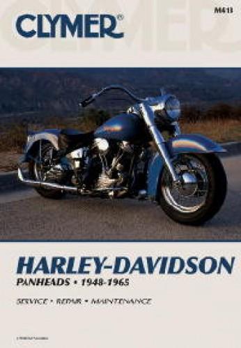1948 1965 harley davidson panhead motorcycle repair manual by clymer rh repairmanual com Harley-Davidson Motorcycles with Flames Harley-Davidson Men Motorcycle Gloves