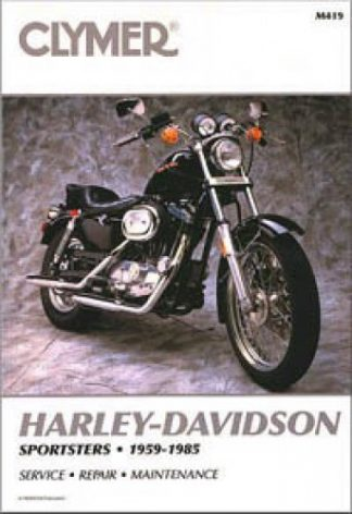 1959-1985 Harley-Davidson Sportster Motorcycle Repair Service Manual by Clymer