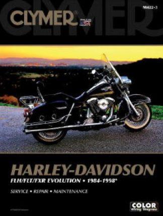 1984-1998 Harley-Davidson FLH FLT FXR Big-Twin Evolution Clymer Repair Manual