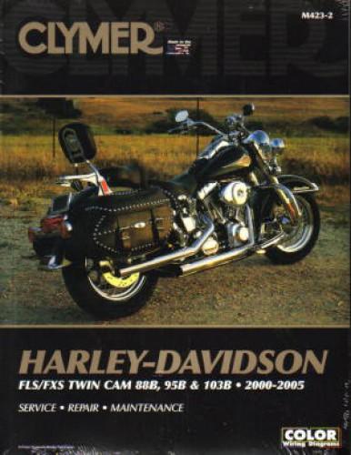Harley 2000-2005 FLS FXS Twin Cam 88B 95B 103B Repair Manual