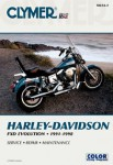 1991-1998 Harley-Davidson Dyna Glide Repair Manual by Clymer