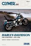 1991-1998 Harley-Davidson Dyna Glide Repair Manual by Clymer