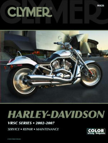 2002-2007 Harley Davidson V-Rod VRSC Clymer Repair Manual