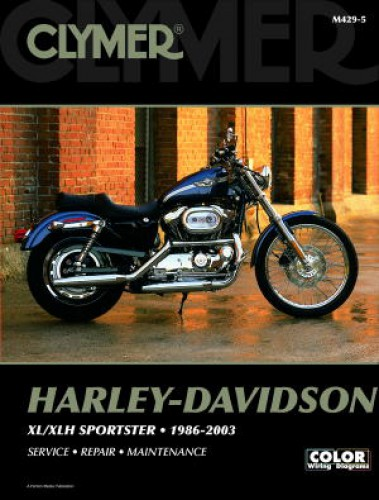 harley davidson sportster evolution 1986 2003 clymer motorcycle rh repairmanual com 1998 Harley-Davidson Motorcycle Service Manuals Harley-Davidson Service Manual PDF