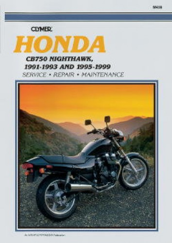 honda cb 750 nighthawk 1991 1993 1995 1999 repair manual by clymer rh repairmanual com Truck Manual Yamaha Service Manuals PDF
