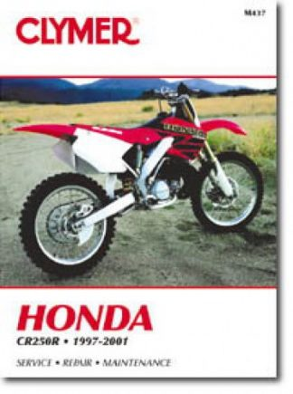 Clymer Honda CR250R 1997-2001 Repair Manual