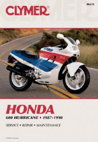 Honda CBR600 Hurricane Repair Manual 1987-1990 Clymer