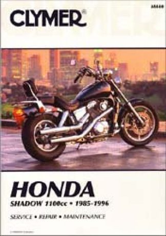 1985-1996 Honda VT1100C Shadow Motorcycle Service Repair Manual by Clymer