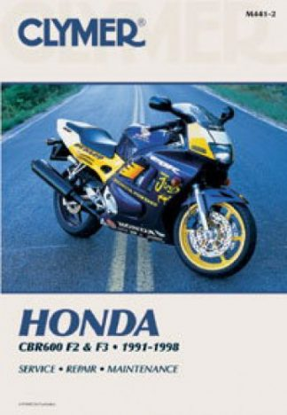 Honda CBR600 F2 F3 Repair Manual 1991-1998 Clymer