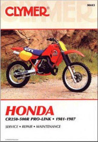 Clymer Honda CR250R-500R Pro-Link 1981-1987 Repair Manual