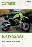 Kawasaki KX60 KX80 Repair Manual 1983-2002 1983-1990 Clymer