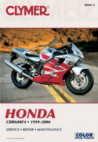 1999 2006 Honda Cbr600 F4 Clymer Motorcycle Repair Manual
