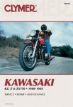 Kawasaki KZ750 Z750 ZX750 Motorcycle Repair Manual 1980-1985 Clymer DIY
