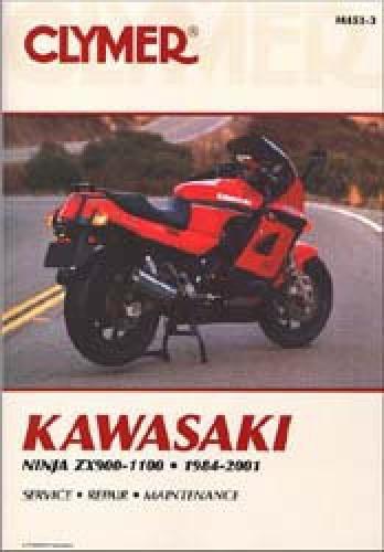 1984 2001 kawasaki ninja zx900 1100 repair manual clymer rh repairmanual com Kawasaki Ninja 250R Kawasaki Ninja 250R