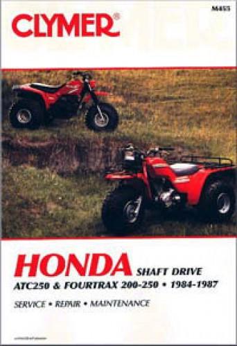 1984-1987 Honda ATC250 Fourtrax 200 250 Repair Manual by Clymer