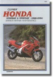 Clymer Honda VFR700F - 750F 1986-1997 Repair Manual