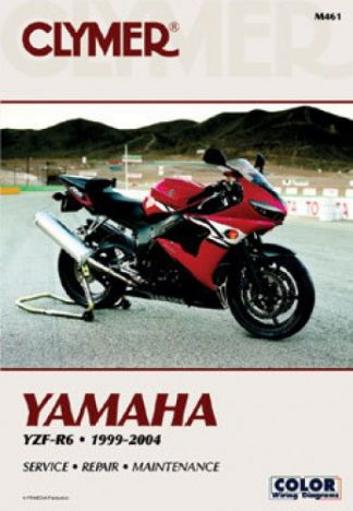 Clymer 1999-2004 Yamaha R6 Motorcycle Repair Manual
