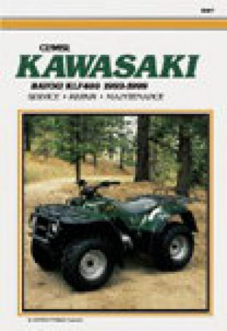 1993-1999 Kawasaki KLF400 Bayou ATV Repair Manual
