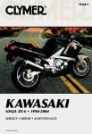 ZX6 Ninja Repair Manual Kawasaki 1990-2004 Clymer