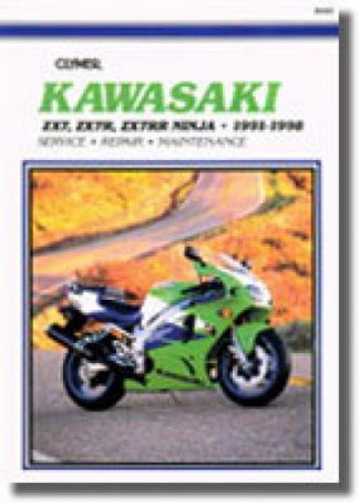 1991-1998 Kawasaki ZX7 Ninja Repair Manual by Clymer