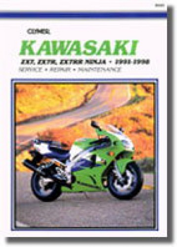 1991 1998 kawasaki zx7 ninja repair manual by clymer rh repairmanual com
