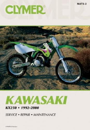 1992-2000 Kawasaki KX250 Motorcycle Repair Manual