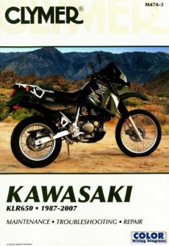 1987-2007 Kawasaki KLR650 Repair Manual by Clymer