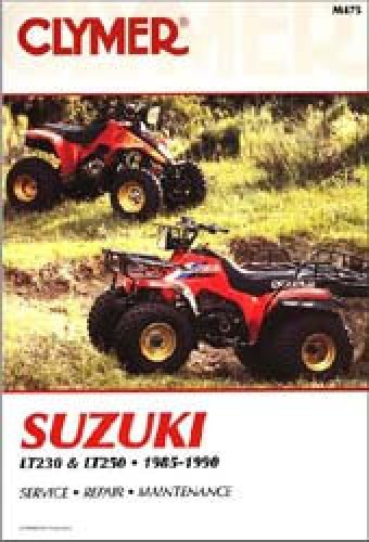 19851990 Suzuki LT230 LT250    ATV    Repair Manual by Clymer