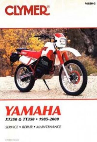Clymer Yamaha XT TT 350 1985-2000 Repair Manual