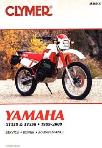 Clymer Yamaha Xt350 Tt350 1985