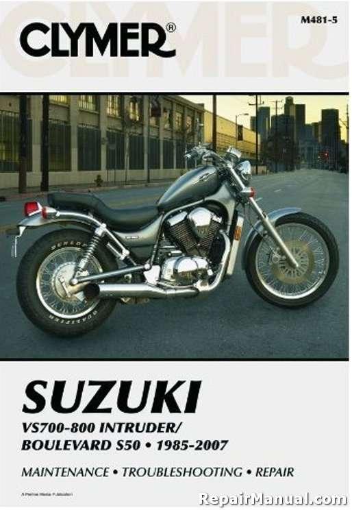suzuki vs700 vs800 intruder boulevard s50 1985