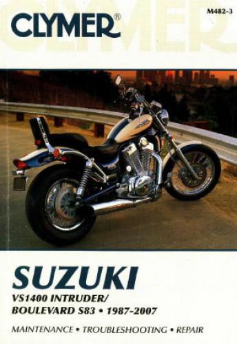 suzuki vs1400 intruder 1987 2007 clymer motorcycle repair manual clymer suzuki vs1400 intruder 1987 2007 repair manual