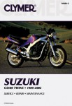 Clymer Suzuki GS500E Twins 1989-2002 Repair Manual