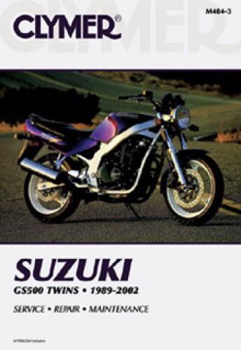 Clymer Suzuki GS500E Twins 1989-2002 Repair Manual