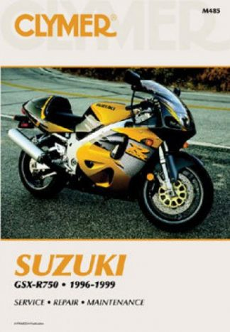 Clymer Suzuki GSX-R750 1996-1999 Repair Manual