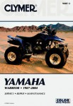 Clymer Yamaha YFM350 Warrior 1987-2004 Repair Manual