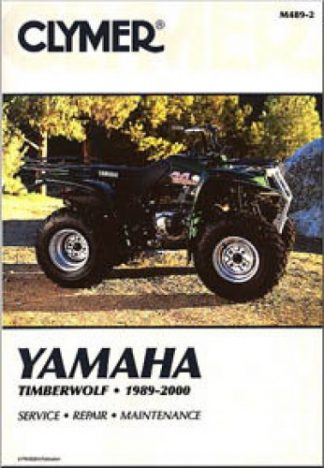 Clymer Yamaha Timberwolf ATV 1989-2000 Repair Manual