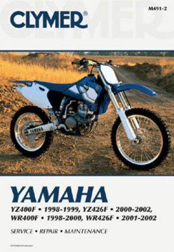 yamaha yz400f yz426f wr400f 1998 2002 clymer motorcycle repair clymer yamaha yz400f yz426f wr400f 1998 2002 repair manual