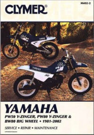 Clymer Yamaha PW50-80 Y-Zinger Big Wheel 80 1994-2001 Repair Manual 1981-2002