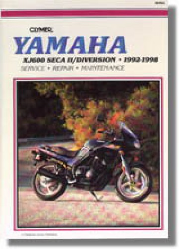 Air Filter Emgo 12-94480 for Yamaha XJ600S Seca II 1992-1996