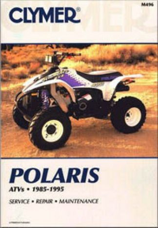 1985-1995 Polaris 3, 4 & 6 wheel ATV Clymer Repair Manual