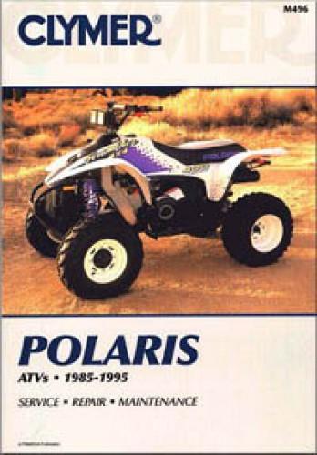 1985-1995 Polaris 3, 4 & 6 wheel ATV Clymer Repair Manual