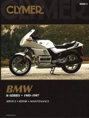 BMW K75 K100 K1100 Motorcycle Repair Manual 1985-1997 Clymer