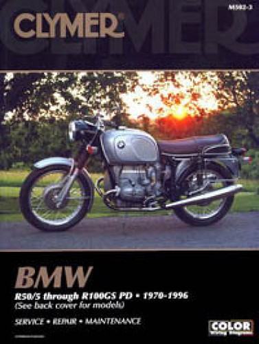 bmw r50 5 r100gspd 1970 1996 clymer motorcycle repair manual. Black Bedroom Furniture Sets. Home Design Ideas
