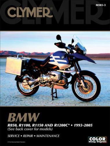 R850 R1100 R1150 R1200C Repair Manual BMW 1993-2005 Clymer