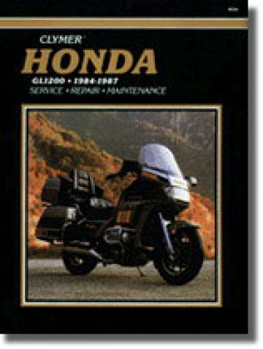 Honda GL1200 Gold Wing Repair Manual 1984-1987 Clymer