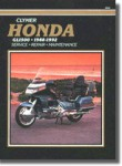 Clymer Honda GL1500 Gold Wing 1988-1992 Repair Manual