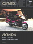 Clymer 1993-2000 Honda GL1500 Goldwing Repair Manual